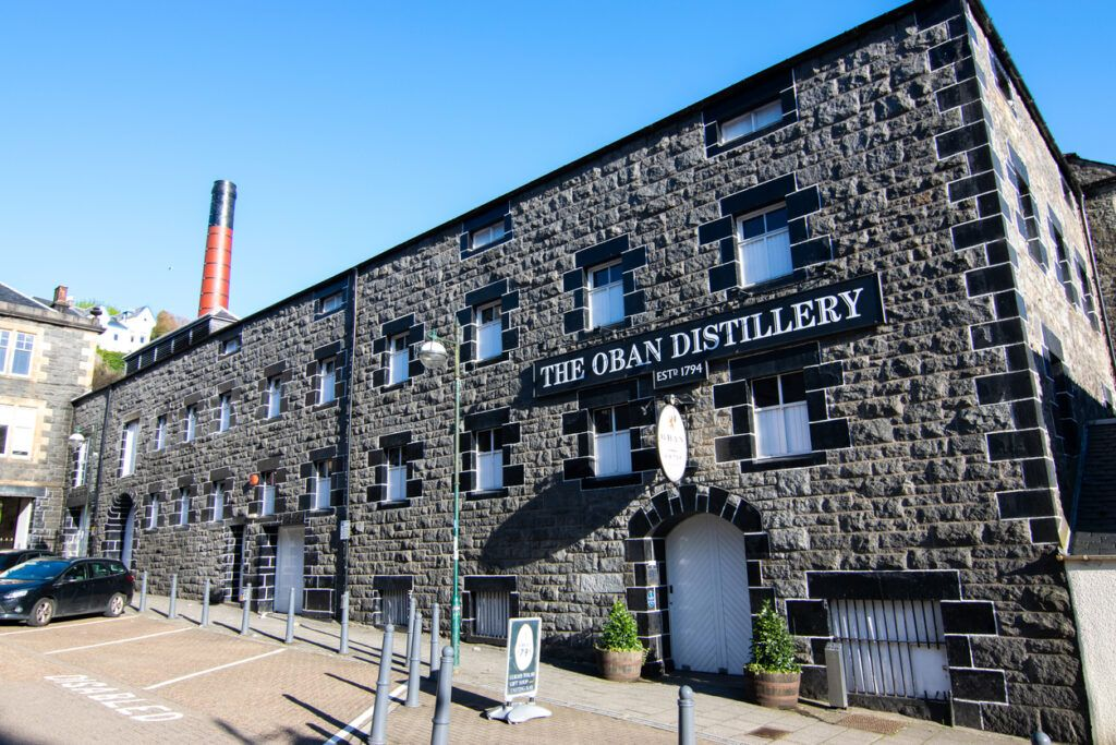 The Oban Distillery in Oban, Scotland