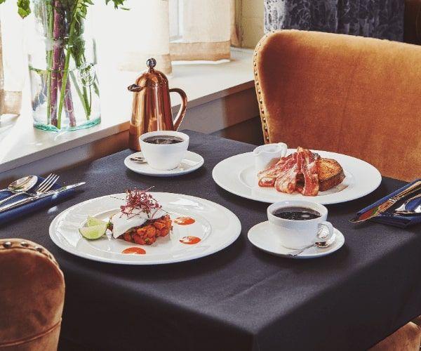 Luxury Oban Hotel Breakfast
