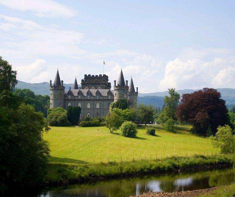 Inveraray Castle in Argyll and Bute