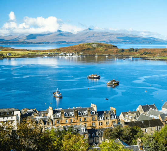 View over Oban Bay