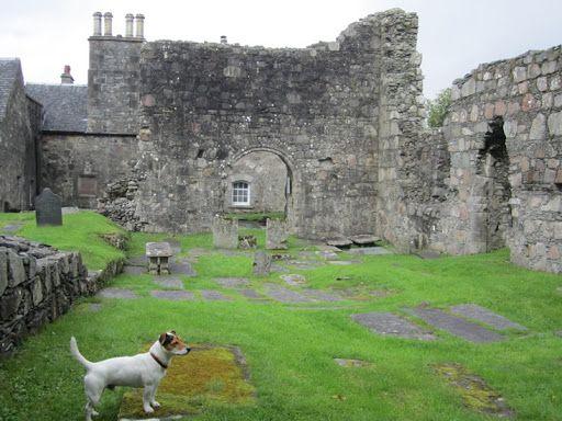 Ardchatten Priory Gardens Ruins Dog Friendly Oban
